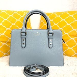 🌸OFFERS?🌸Kate Spade Leather Light Blue Satchel